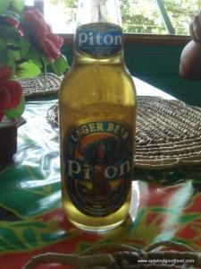 Piton Caribbean beer