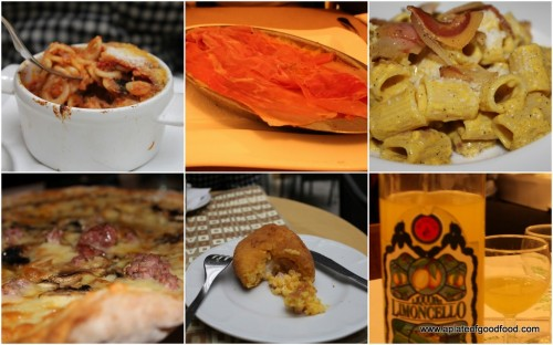 food in rome