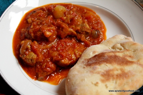 lamb curry with onions