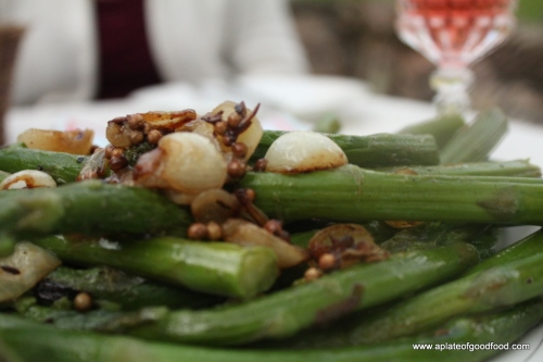 asparagus with coriander and cumin