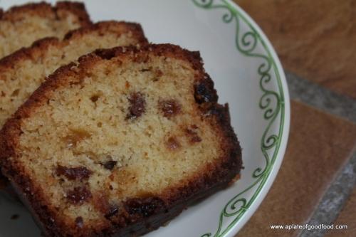 cake with madeira
