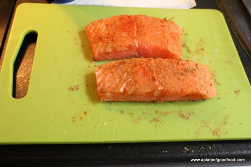 pan fried salmon fillets