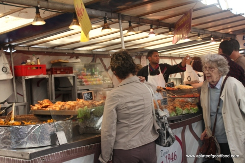 Paris food market