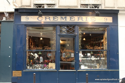 cremerie paris