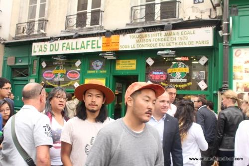 falafel in paris