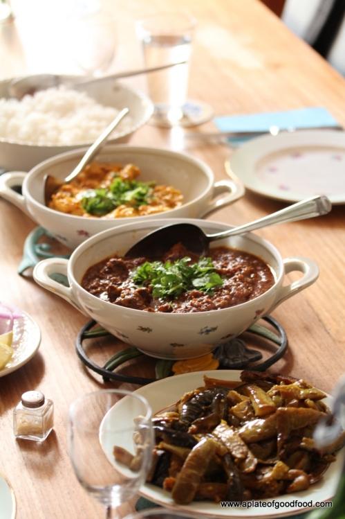 Indian dinner