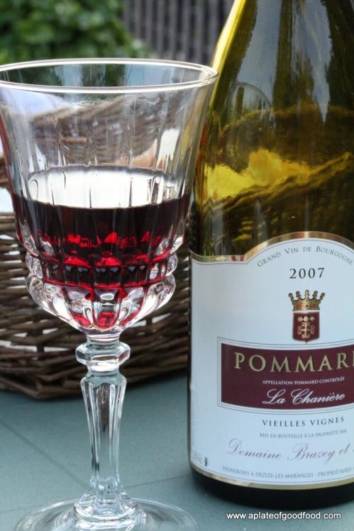 french burgundy wine