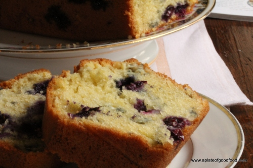 cake with blue cheese