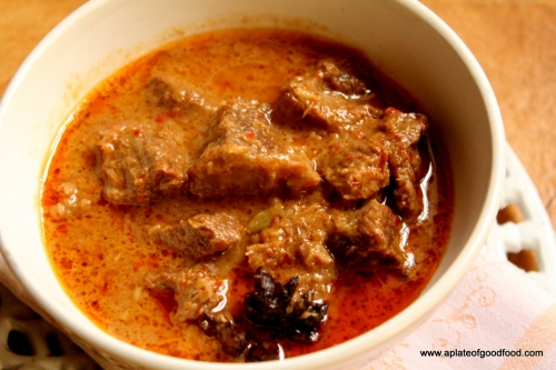spicy rendang
