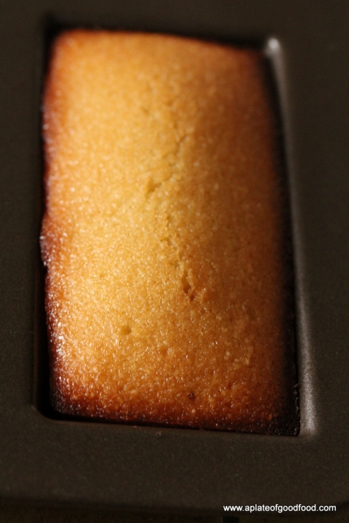 recipe for financiers