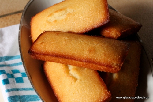 home made financiers