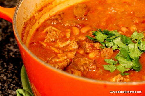 mexican beans and pork