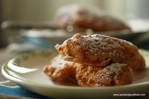 fritters with plaintains