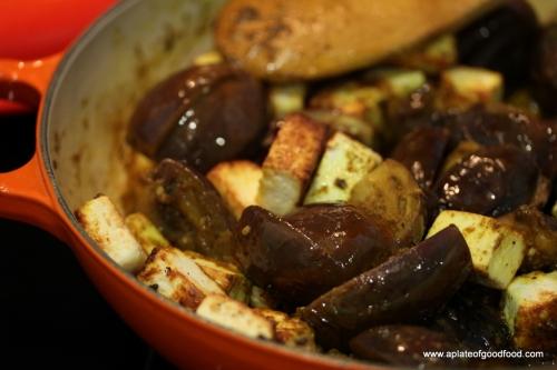 eggplant paneer curry
