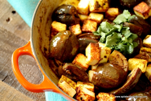 eggplant with indian spices