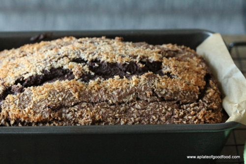 cake with chocolate and buttermilk