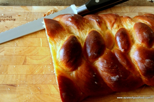 braided challah