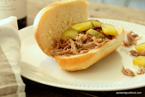 pulled pork with beer
