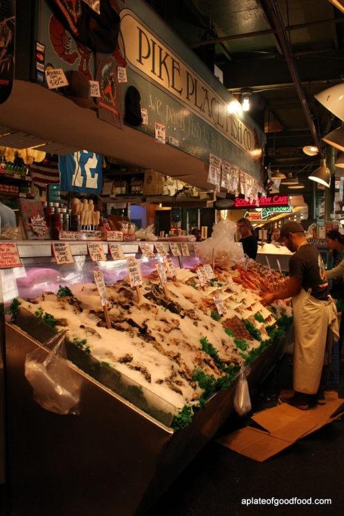Fish at Pike Place Market