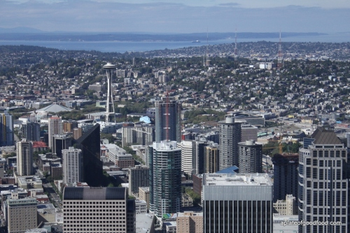 View from Columbia Tower Seattle